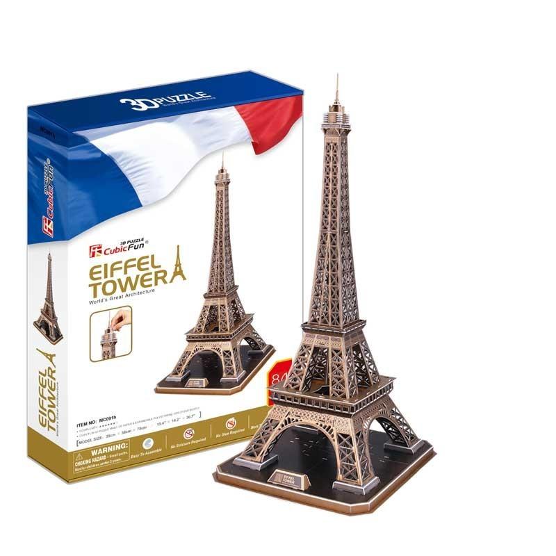 Puzzle 3D Torre Eiffel de París
