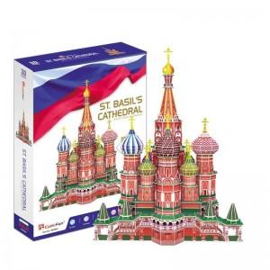 Puzzle 3D Catedral de San Basilio de Moscú