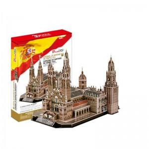 Puzzle 3D Catedral de Santiago de Compostela