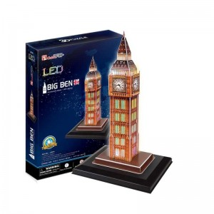Puzzle 3D Big Ben con Luces LED