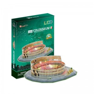 Puzzle 3D Coliseo Romano con Luces LED