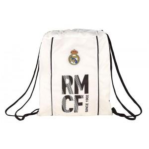 Mochila Saco Cuerdas Oficial Real Madrid 18/19