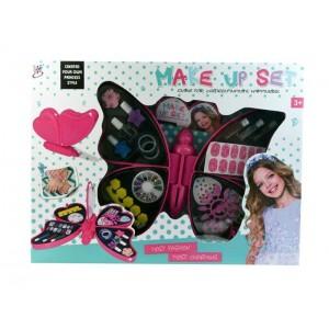 Set Mariposa Maquillaje Infantil
