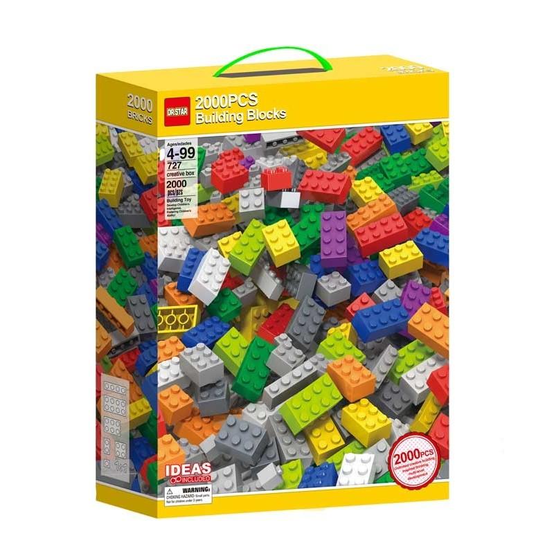 Bloques de Construcción 2000 piezas