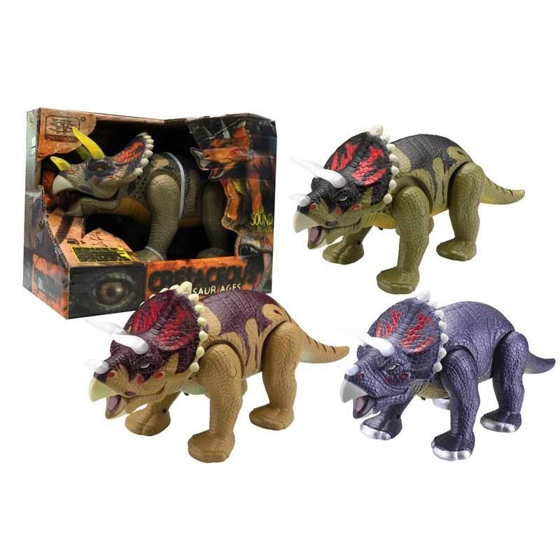 Figuras Dinosaurio Triceratops