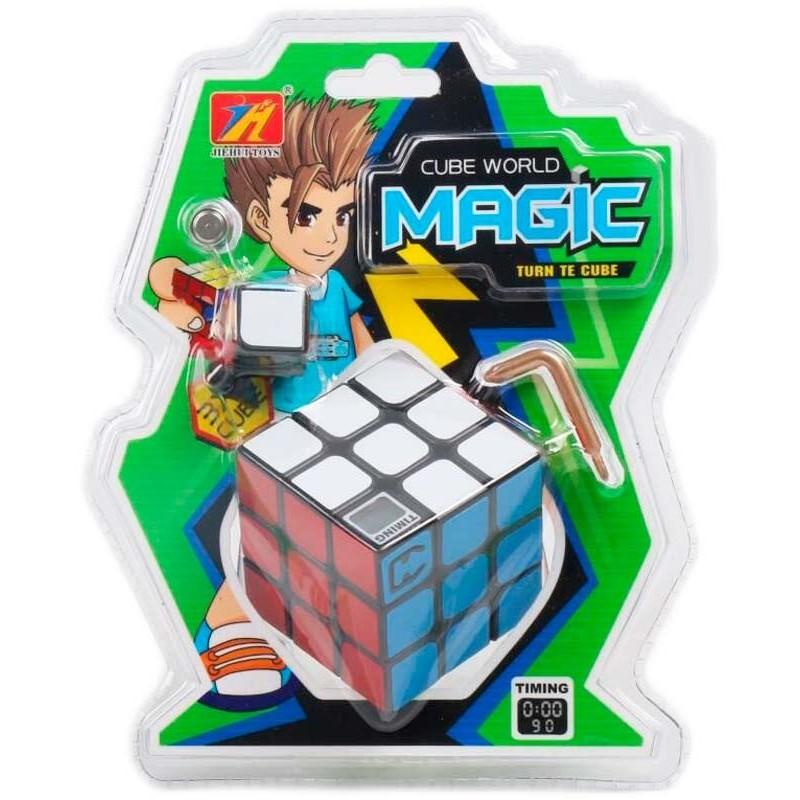 Cubo Mágico de Rubik con Tiempo
