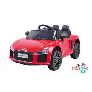 Coche de Batería Audi R8 Rojo para niños