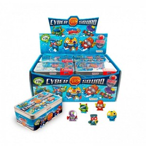 Superzings Caja Exclusiva Cyber Squad