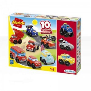 Set 7+3 Coches Abrick