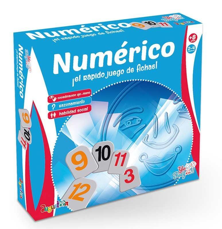 Numérico - El Juego Rápido de Fichas YO JUEGOO