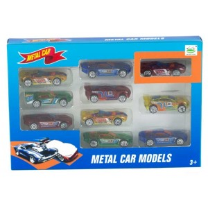 Set 10 Coches de Carreras