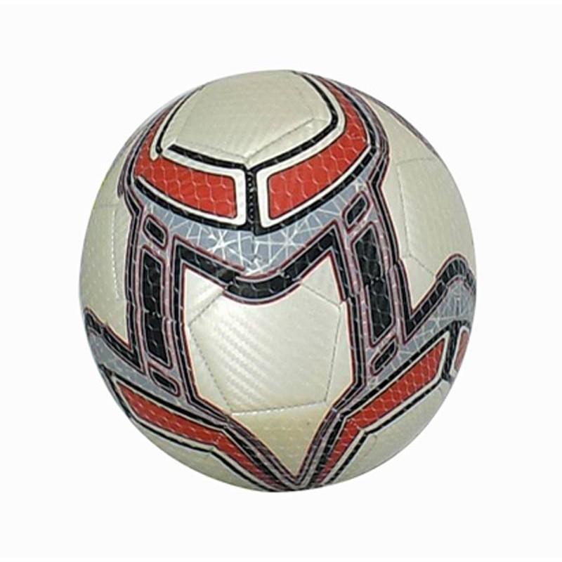 Balón de Fútbol de Cuero Plata