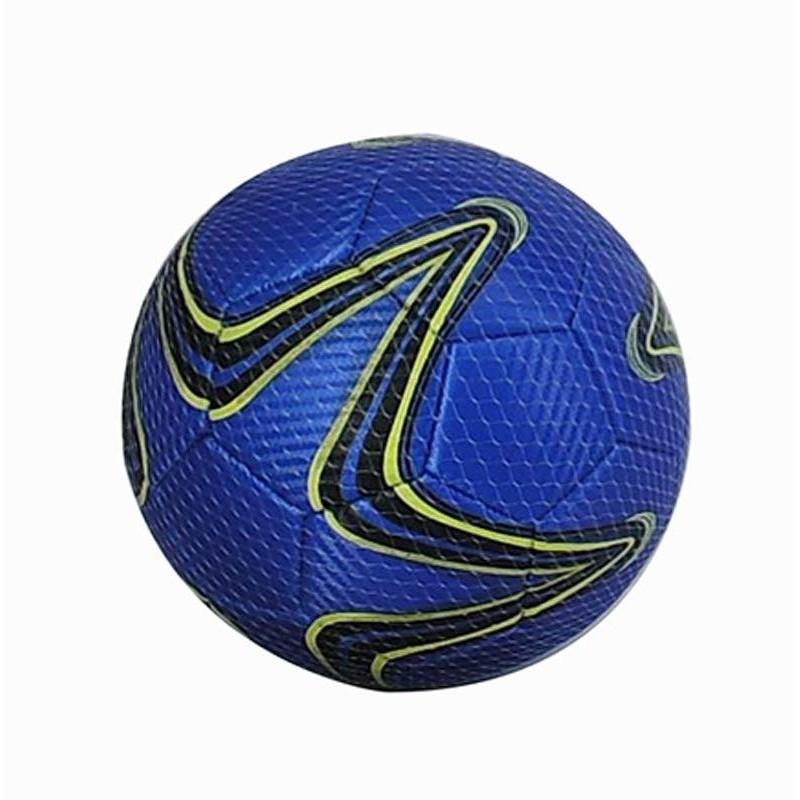 Balón de Fútbol de Cuero Azul