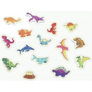 Puzzle Dinosaurios para Baño