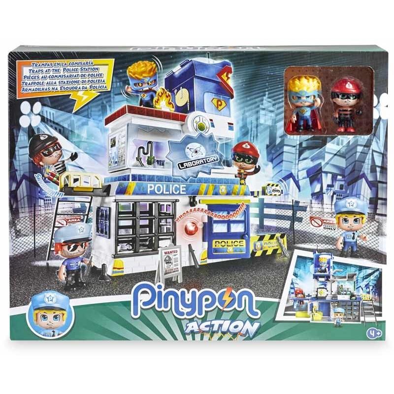 Pinypon Action Trampas en la Comisaría