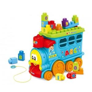 Tren Infantil con Bloques
