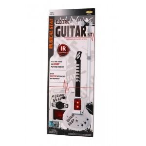 Guitarra Eléctrica y Micrófono Infantil