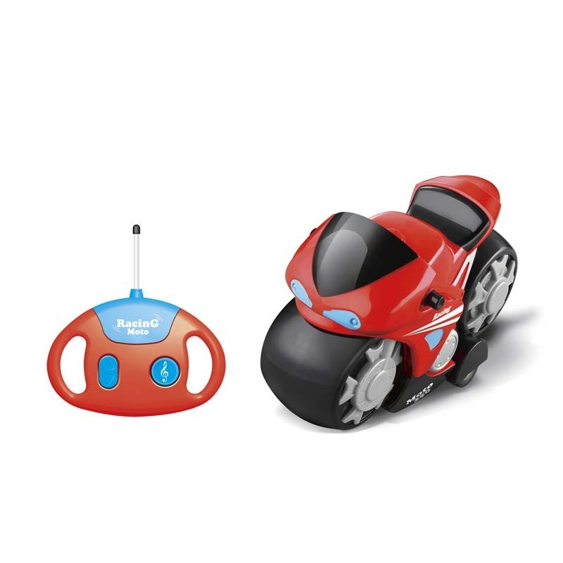 Moto RC Infantil con Música