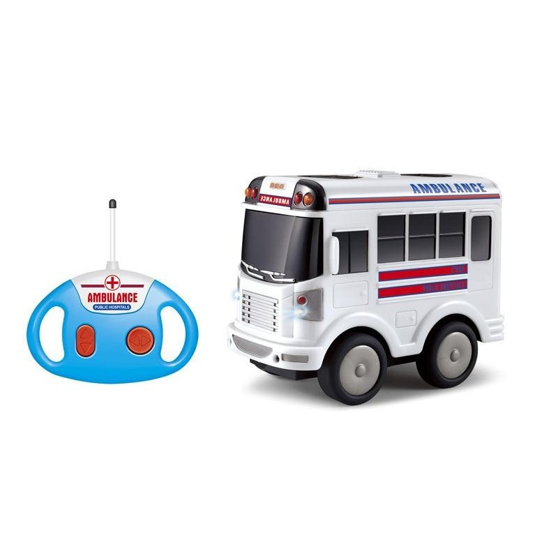 Ambulancia Radio Control con Música