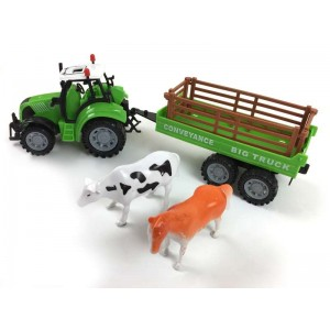 Tractor Infantil con Animales