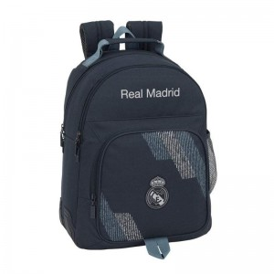 Mochila Doble Oficial Real Madrid Adaptable Carro