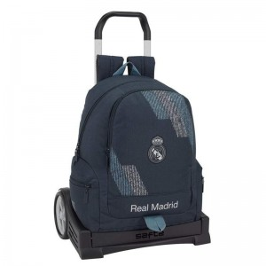 Mochila Oficial + Carro Evolution Real Madrid