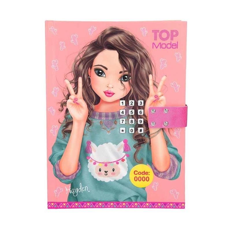 Top Model Diario Código Secreto Rosa