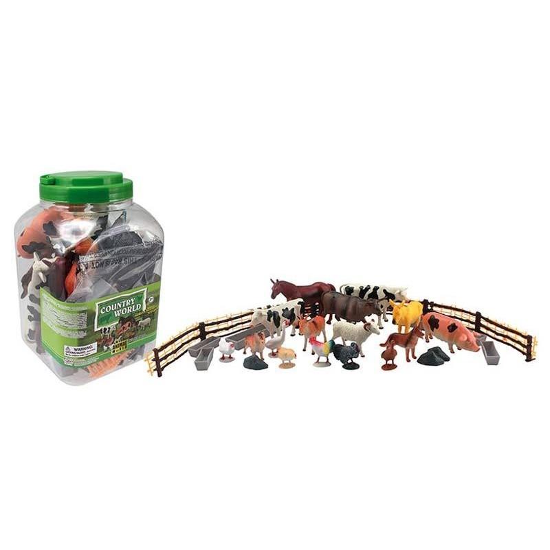 Figuras de 50 Animales de Granja