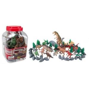 Set de Figuras de 50 Dinosaurios