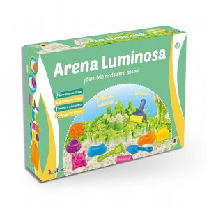 Set de Arena Luminosa FUNNY DOOUGH