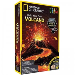 National Geographic Crea Tu Volcán