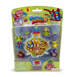 Superzings Serie 3 Blister 10 Figuras