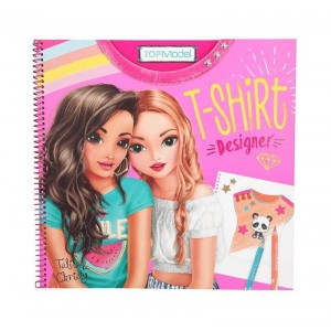 Cuaderno de Colorear Top Model