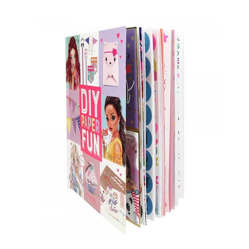 Libro de Manualidades Paper Lovers Top Model