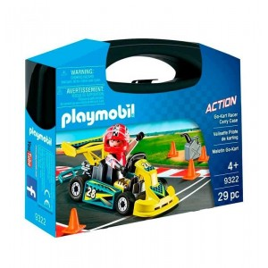 Playmobil Action Maletin Go Kart
