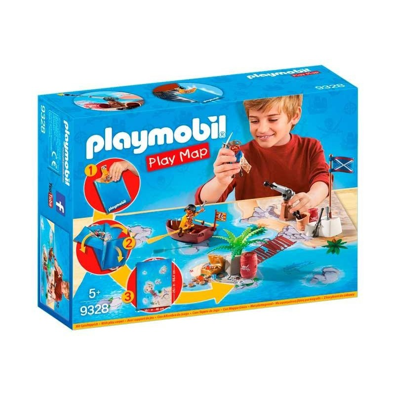 Playmobil Play Map Piratas