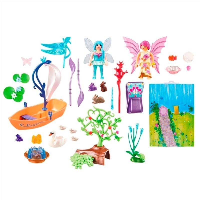 Playmobil Play Map Hadas de Jardin