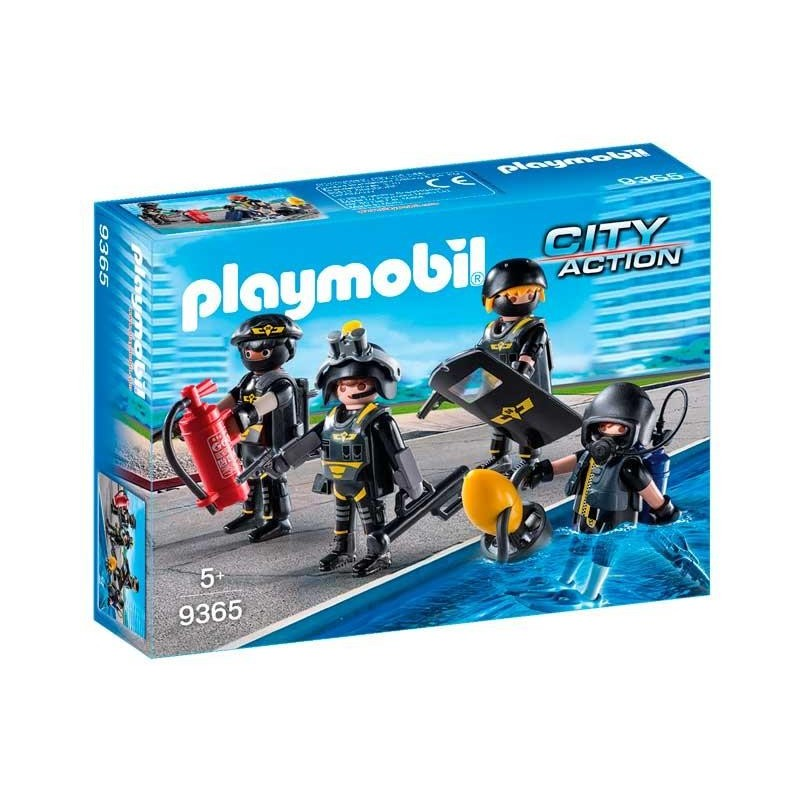 Playmobil City Action Equipo de Fuerzas Especiales