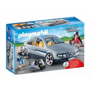Playmobil City Action Coche Fuerzas Especiales