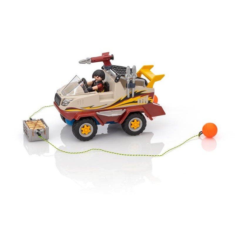 Playmobil City Action Coche Anfibio
