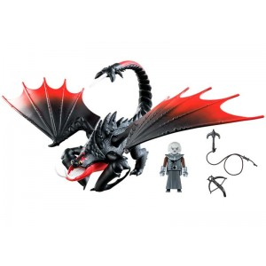 Playmobil Dragons Aguijón Venenoso y Crimmel