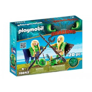 Playmobil Dragons Chusco y Brusca