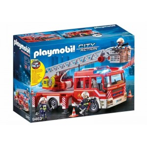 Playmobil City Action Camión de Bomberos Escalera