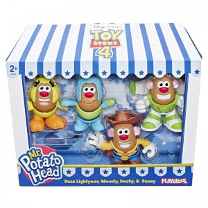 Toy Story 4 Mr Potato Mini Pack 4 Figuras