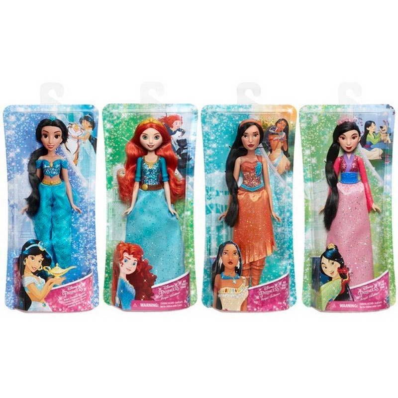 Disney Princess Muñecas Brillo Real