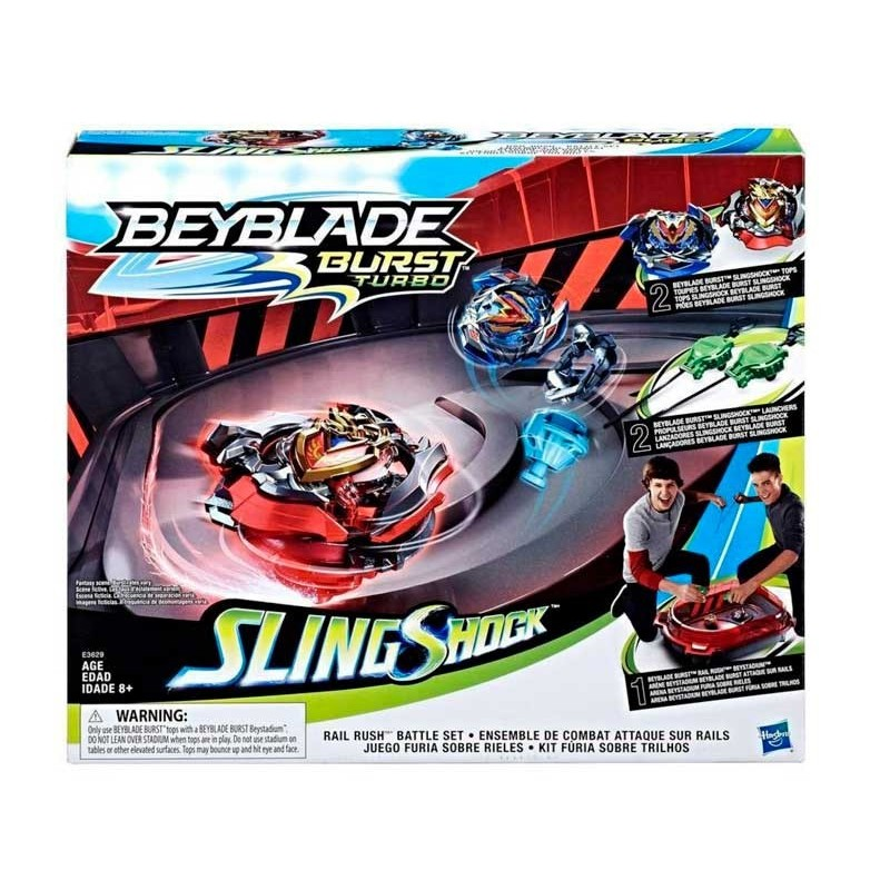 Estadio Beyblade Burst Turbo Slingshock Rail Rush
