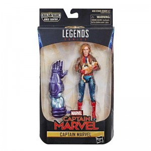Figuras Marvel Legends Capitana Marvel