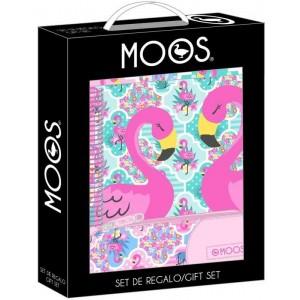 Set de Regalo Moos Flamingo Rosa