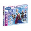 Puzzle 104 Piezas Disney Frozen Diamante