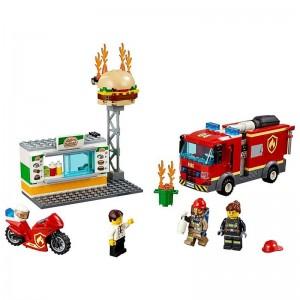 Lego City Rescate del Incendio en Hamburguesería
